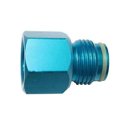 Adapter converts Standard CGA 320 Male Fitting to CO2 Paintball Tank - WRCO2-4A5