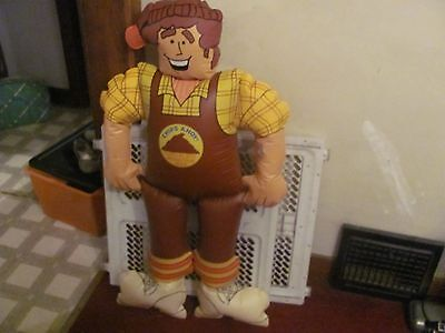 Nabisco Chips Ahoy Chocolate Mountain Man Blow Up inflatable NEW