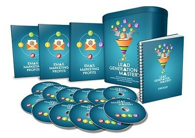 How to Generate Targeted Leads Using Smart, Cost-Effective Strategies-Videos 1CD