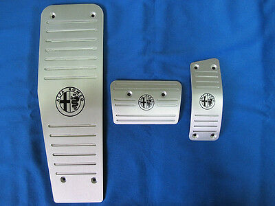 Alfa Romeo 159/Brera/Spider Aluminum Selespeed Automatic AT PEDAL PADS COVER LHD