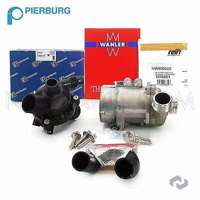 BMW Engine Water Pump Electric W/ Bolts + Thermostat Assembly + Hose 925/476/049