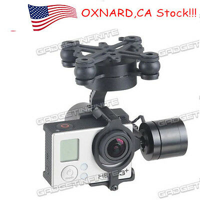 GL-3X 3 Axis CNC Brushless Gimbal with V2.3B5 Controller for Gopro3/3+ i