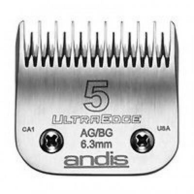 ANDIS 5 SKIPTOOTH CLIPPER BLADE. 6.3mm. Dog Grooming.