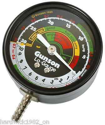 Gunson Tools SALE! G4103 Low Gauge Vacuum Tester Tool For All Petrol Engines