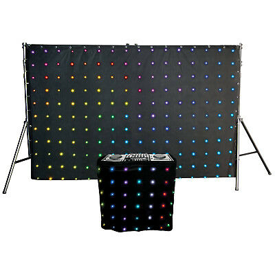 Chauvet DJ MotionSet LED Motion Drape/Facade Animation Club Booth/Backdrop Pack
