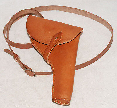 Wwi Us Army Officer Revolver Leather Holster -32397