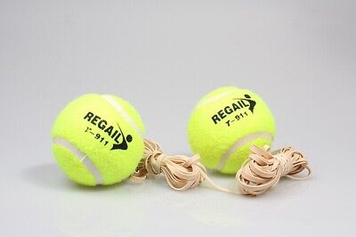 Yellow Tennis Trainer Replacement Ball and String