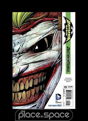 Batman And Robin, Vol. 2 #15 - Death Of The Family