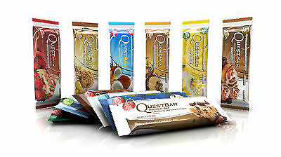 Quest Nutrition, Quest Protein Bars - 18 DIFFERENT FLAVOURS - PICK & CHOOSE