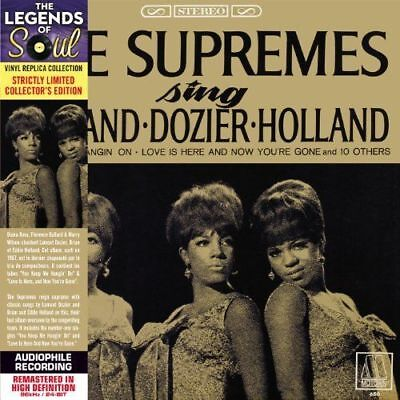 Supremes, The - Sing Holland Dozier Holland NEW CD