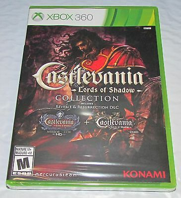 Castlevania Lords of Shadow Collection for Xbox 360 Brand New, Factory Sealed!
