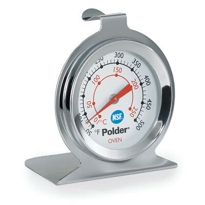Polder THM-550N Oven Thermometer, Stainless Steel