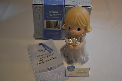 2008 Precious Moments You Are My Source Of Comfort & Inspiration Figurine 820016