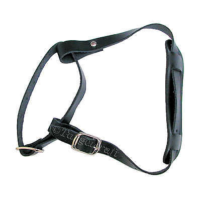 Bow sling leather w/buckle adjustable UK made