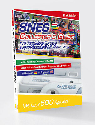 Snes Collector´S Guide 2nd Der Latest Super Nintendo Games Price Leader