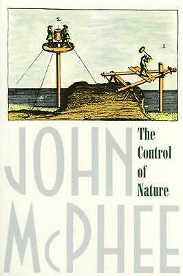 The Control of Nature by John McPhee (English) Paperback Book Free Shipping!