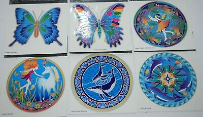 Sunseal Mandalas Sticker window Stained Glass Mirror art door decal Car bumper