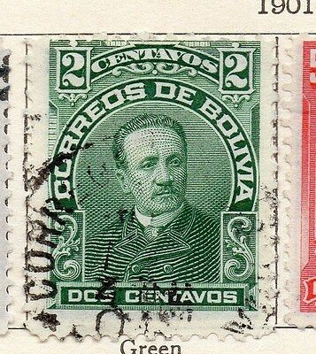 Bolivia 1901-04 Early Issue Fine Used 2c. 106771