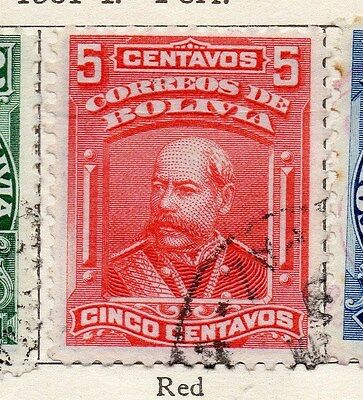 Bolivia 1901-04 Early Issue Fine Used 5c. 106772