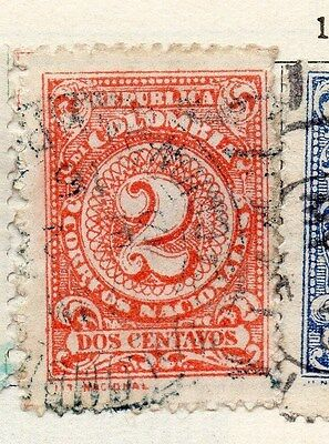 Colombia 1904 Early Issue Fine Used 2c. 105550