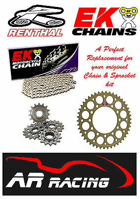Renthal / EK Chain & Sprocket Kit to fit Yamaha FZS 600 Fazer 1998-2003