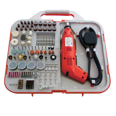 162Pc Electric Rotary Mini Drill & Bit Set Jewellery Making Craft Hobby Tool Kit