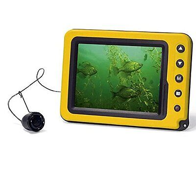 "NEW Aqua Vu  Handheld Camera 5"" Color LCD IR w/50' Cable AVMICRO-5c"