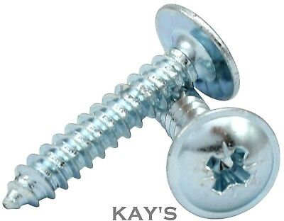 FLANGE HEAD SELF TAPPING SCREWS, FLANGED TAPPERS, ZINC PLATED, No.4,6,8,10 GAUGE