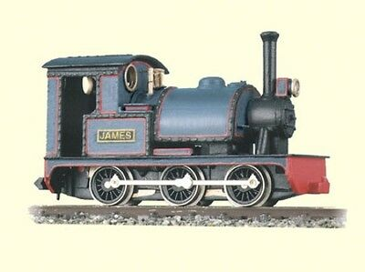 Peco GL-2 'James' 0-6-0T Saddle Tank Engine Whitemetal Body Kit '00-9' Gauge T48