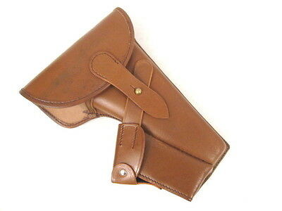 WWI Austria-Hungary Roth-Steyr Model 1907 Pistol Leather Holster - Reproduction