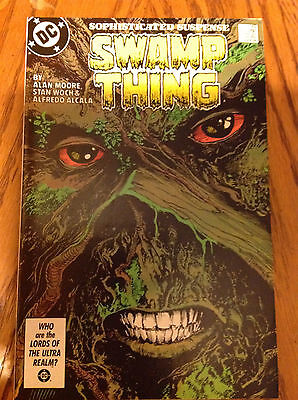 Swamp Thing #49 - 1st Appearance of Justice League Dark