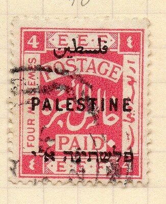 Palestine Early 1920 Issue 4m. Fine Used