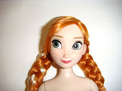 Disney Character Doll Long Braided Red Haired 12 Inch Female Doll dn172