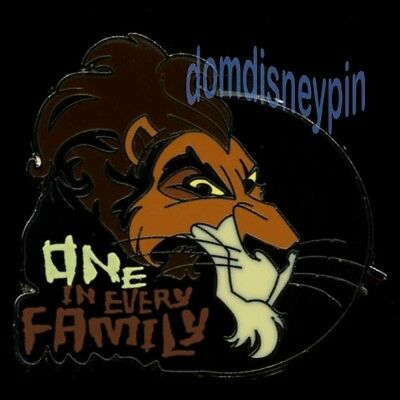 Disney Pin *Stylized* Villain Mystery Series - Scar (One In Every Family)!