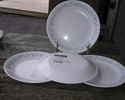 CORNING CORELLE COUNTRY COTTAGE LOT OF 4  LUNCH PLATES NEW