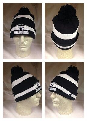 aef1f73a DALLAS COWBOYS NEW Era Knit Beanie Hat Cap Pom NFC Division Champions Champs