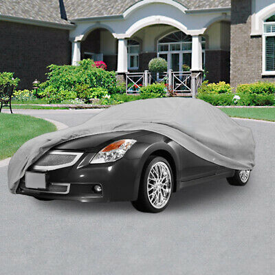 New Universal Full-size Car Cover Outdoor UV Dust Protection Breathable