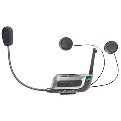 New Scala Rider G4 Solo Motorcycle Bluetooth Headset