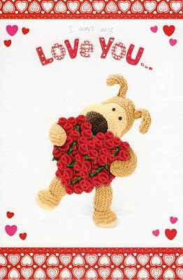 I Love You This Much Pop Out Boofle Valentine's Card Valentine Greeting Cards