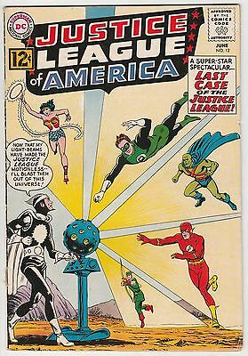 JUSTICE LEAGUE OF AMERICA #12,NICE GLOSSY BOOK,1st DR LIGHT!
