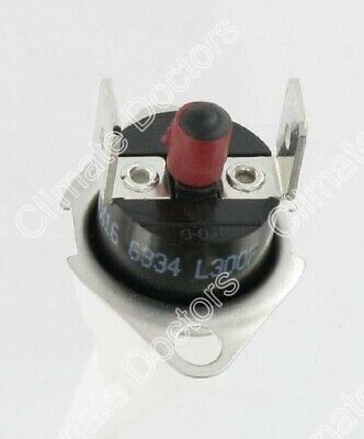 Replacement Rheem Ruud 47-22861-02 Roll Out Switch Manual Reset