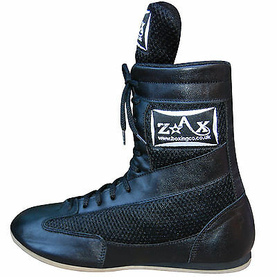 Leather Boxing Boots Boxing Shoes Light Weight Rubber Sole ALL SIZES