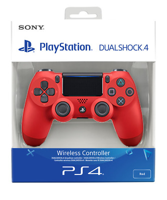 PS4 DualShock 4 Controller Magma Red V2   BRAND NEW SEALED OFFICIAL PAL