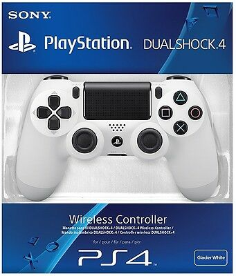 PS4 DualShock 4 Controller White BRAND NEW SEALED OFFICIAL PAL