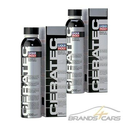 2x 300ml LIQUI MOLY CERA TEC HIGH-TECH-KERAMIK ADDITIV 31561579