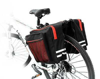 VENZO 600D 34L Bike Bicycle Pannier Bag