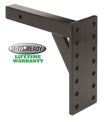 TOW READY PINTLE HOOK TRAILER HITCH RECEIVER MOUNT 8,000 lbs. DEEP DROP 11-3/8""