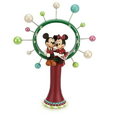 """Disney """"MICKEY AND MINNIE MOUSE TREE TOPPER""""  ~ NEW"""