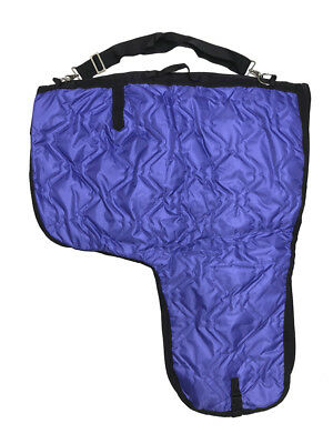 Western Horse Saddle Carrier Cover Bag Extra Large Poly Fill 420D Padded Purple