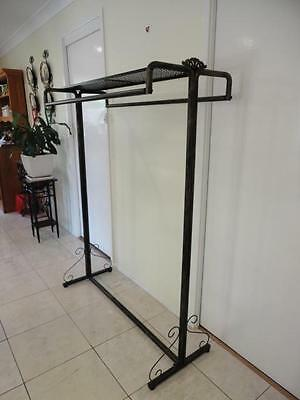 Iron Clothes Free Standing Rack Display Home Fashion Shop Shelf Rods BRS001